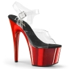 ADORE - 708 Clear/Red Chrome